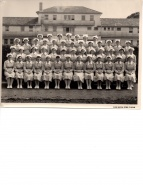 Class photo 1957 Sylvia 2nd row six from left Photo Sparrow Industrial Pictures Ltd Auck.jpg