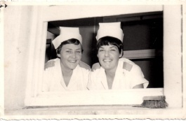 Marjorie Crawford and Von Graduation Day 1967.jpg